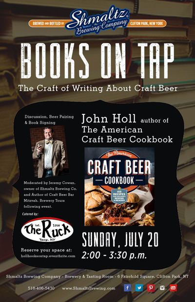 Poster for Books on Tap- John Holl copy